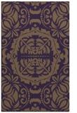 rug #988845 |  purple rug