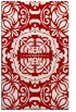 rug #988853    red traditional rug