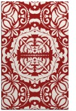 rug #988861 |  red traditional rug