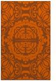 rug #988877 |  red-orange traditional rug