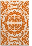 rug #988881 |  red-orange traditional rug