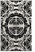 rug #988885 |  black damask rug