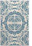 rug #988901 |  white damask rug