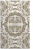rug #988905 |  white damask rug