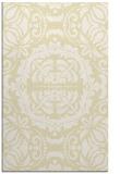 rug #988913    yellow traditional rug