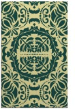 rug #988929 |  yellow damask rug