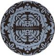 rug #989079   round damask rug