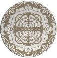 rug #989121 | round traditional rug