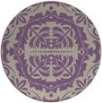 rug #989149   round beige damask rug