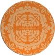 rug #989235 | round damask rug