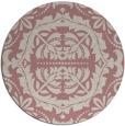 rug #989313   round pink rug