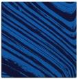 rug #991517 | square blue stripes rug