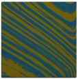 rug #991565 | square blue-green stripes rug
