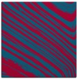 rug #991609 | square blue-green abstract rug