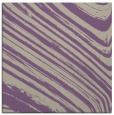 rug #991669 | square purple abstract rug