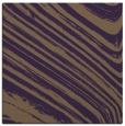 rug #991725 | square mid-brown abstract rug