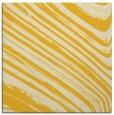 rug #991789 | square yellow rug