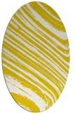 rug #992130 | oval natural rug
