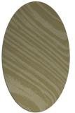 rug #992177 | oval light-green abstract rug