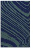 rug #992245    blue stripes rug