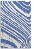 rug #992253 |  blue stripes rug