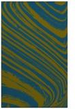 rug #992285 |  blue-green stripes rug
