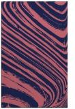 rug #992301 |  blue-violet abstract rug