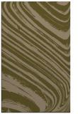rug #992321 |  mid-brown abstract rug