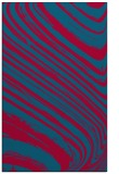 rug #992329 |  blue-green abstract rug