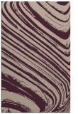 rug #992365 |  pink abstract rug