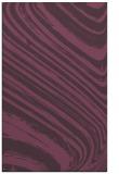 rug #992437 |  purple stripes rug
