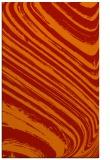 rug #992457 |  orange stripes rug