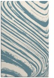 rug #992501 |  blue-green stripes rug