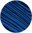 rug #992597 | round blue abstract rug