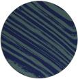 rug #992605   round blue stripes rug