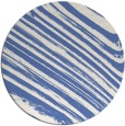 rug #992613 | round blue stripes rug