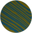 rug #992645 | round green abstract rug