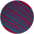 rug #992689 | round blue-green natural rug