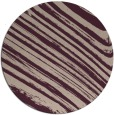 rug #992725 | round pink abstract rug