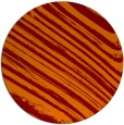 rug #992765 | round red-orange abstract rug