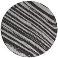 rug #992777 | round orange stripes rug