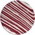rug #992785 | round pink stripes rug