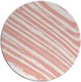 rug #992793 | round pink natural rug