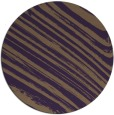 rug #992805 | round mid-brown popular rug