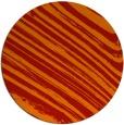 rug #992817 | round orange abstract rug
