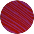 rug #992825 | round red natural rug