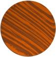 rug #992837 | round red-orange popular rug