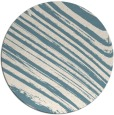 rug #992861 | round white stripes rug