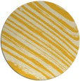 rug #992869 | round yellow abstract rug