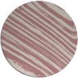 rug #992913 | round pink natural rug